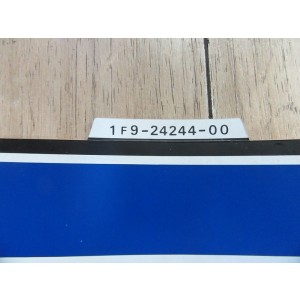 Déco de réservoir gauche Yamaha 125 DTMX 1979 (1F9-24244-00)
