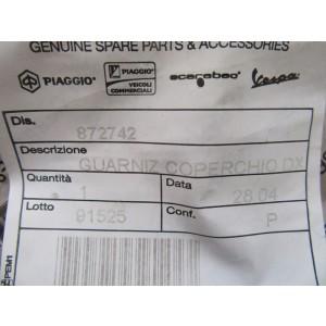 Joint de couvre culasse droit Moto Guzzi Sport, California, Norge, Stelvio, Griso, Eldorado (872742)