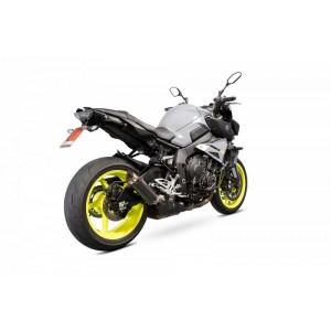 Silencieux Scorpion RP-1 GP  Carbone et casquette titane Yamaha MT-10 2016- 2019