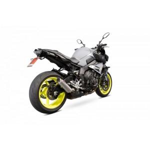 Silencieux Scorpion RP-1 GP  titane et casquette titane Yamaha MT-10 2016- 2019