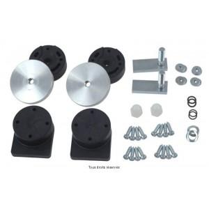 Valise Latérale Enduro 38L Alu Dim: 45x24x39cm + Kit fixation 6.6 Kg - Livrée sans platine4