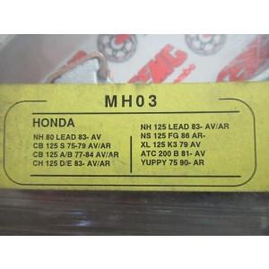 Mâchoires de frein SEMC Brembo MH03 (110x25 mm) Honda CB 125 S 1975-1984