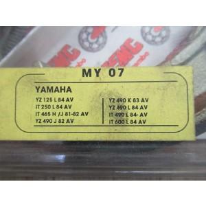 Mâchoires de frein SEMC Brembo MY07 Yamaha YZ490