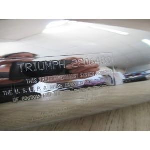 Silencieux Triumph T100 Bonneville 2009-2019