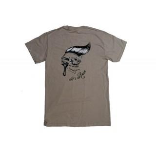 T-shirt homme Let's race Speck Moto beige